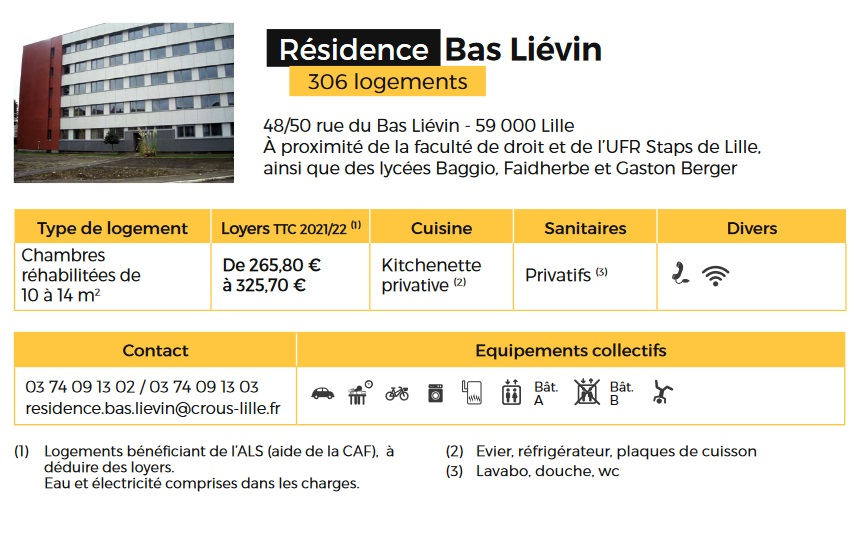 residence bas lievin info